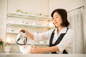 紅茶専門店 Tea Salon You 森有子さん